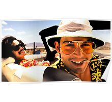 Fear and Loathing in Las Vegas - Art Poster