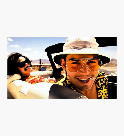 Fear and Loathing in Las Vegas - Art Photographic Print