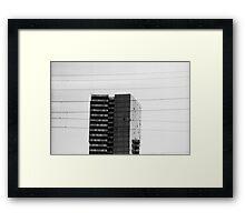 Crosswires Framed Print