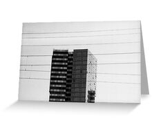 Crosswires Greeting Card