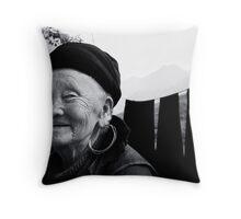 Almost a century Throw Pillow