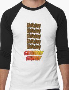 Love Weekends Men's Baseball ¾ T-Shirt