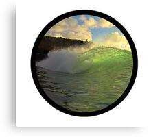 Secret Wave Canvas Print