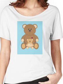 TWO TEDDY BEARS #2 Women's Relaxed Fit T-Shirt