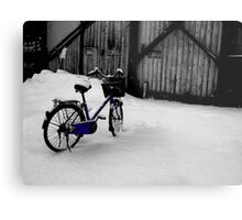 Nice Day for A Bike Ride Metal Print