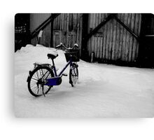 Nice Day for A Bike Ride Canvas Print