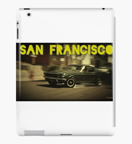 San Francisco & Muscle Cars iPad Case/Skin