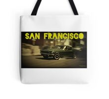 San Francisco & Muscle Cars Tote Bag