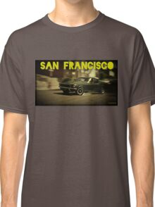 San Francisco & Muscle Cars Classic T-Shirt
