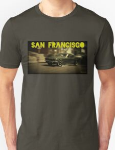 San Francisco & Muscle Cars Unisex T-Shirt