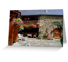 Pretty farm Greeting Card