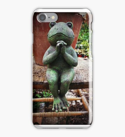 Oh Gods of the Gardens....send me a pond !  iPhone Case/Skin