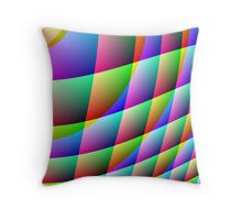 COLOUR CRAZE - AVAILABLE IN LEGGINGS AND DUVET COVERS Throw Pillow