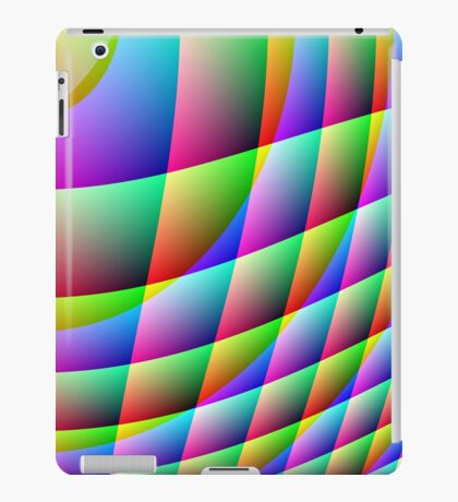 COLOUR CRAZE - AVAILABLE IN LEGGINGS AND DUVET COVERS iPad Case/Skin