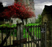 St Mary's Church Westham UK by Beth A