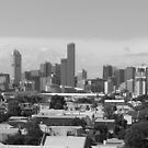 City from Port Melbourne by Joan Wild