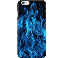 Blue Fire iPhone Case/Skin