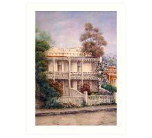 'Carlton Terraces' Art Print