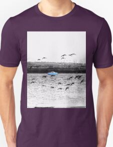 Little Blue Boat Unisex T-Shirt