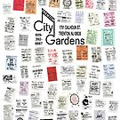 City Gardens Punk Card Print version 2.0 by Fitcharoo
