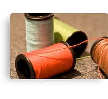 sewing threads Canvas Print