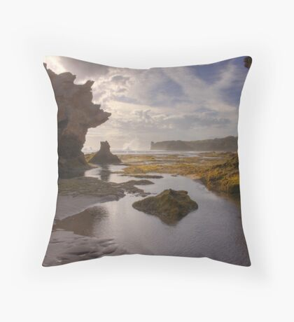The High Cloud Rockscape Throw Pillow