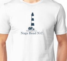 Bodie Island Lighthouse - OBX. Unisex T-Shirt