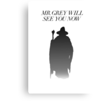 Fifty Shades of Gandalf the Grey Canvas Print