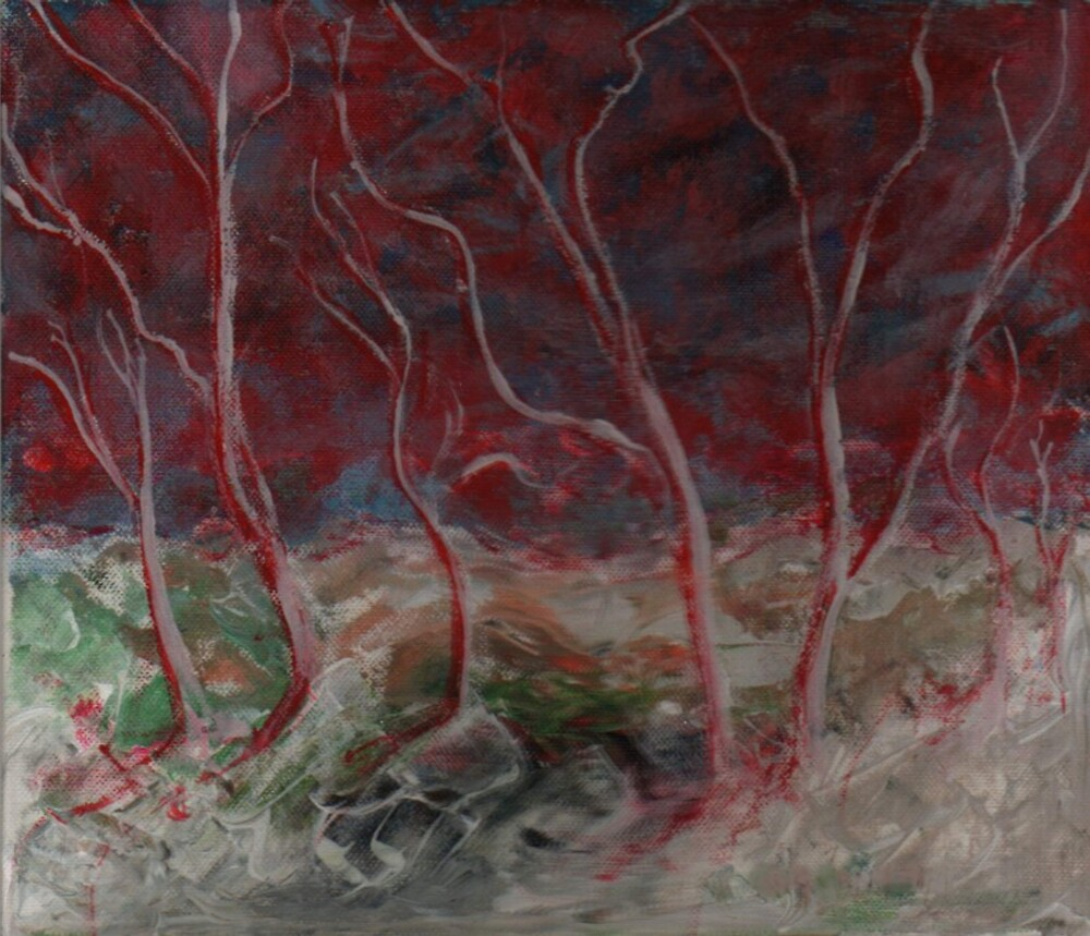The Path Through the Trees at Night by Peter Searle ( the Elder )