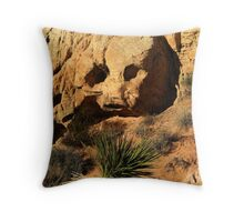 Stoned - Valley of Fire Throw Pillow