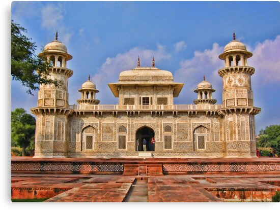 Itmad-Ud-Daulah's Tomb, Agra, India by vadim19
