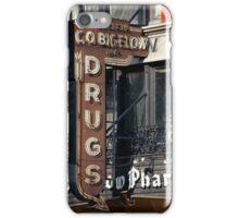 Drugstore in the West Village - Kodachrome Postcards iPhone Case/Skin