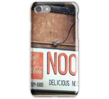 Noodle Bar in the East Village - Kodachrome Postcard iPhone Case/Skin