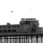 Worthing Pier B&W 1 by Greg Roberts