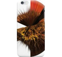 Edge oil painting as a Spherical Depth Map. 2 iPhone Case/Skin