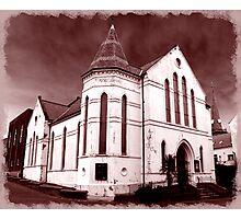 Carrickfergus Methodist Church (before demolition Dec '08) Photographic Print