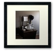 The Gentleman's Gable Framed Print
