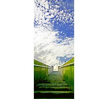 Stairway to the Sky Photographic Print