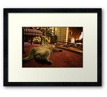 Comfort & Joy Framed Print