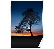Sunset at Surprise View Poster