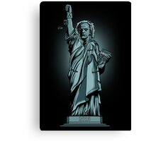 Statue of Time Canvas Print