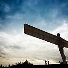 Angel of the North by Jon Bradbury