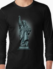 Statue of Time Long Sleeve T-Shirt