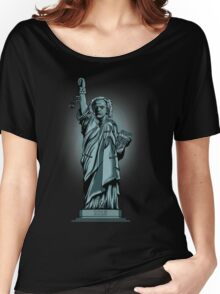 Statue of Time Women's Relaxed Fit T-Shirt