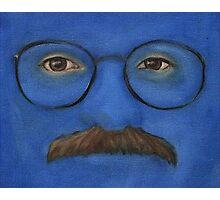I'm Afraid I Just Blue Myself Photographic Print