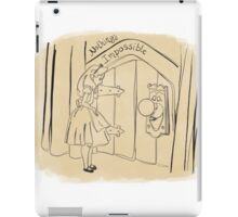 Nothing's Impossible iPad Case/Skin