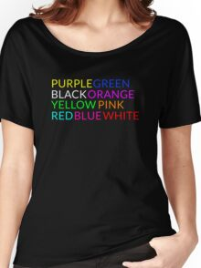 Colors are difficult to read Women's Relaxed Fit T-Shirt