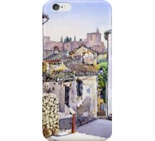 Old Granada, Spain iPhone Case/Skin