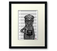 Chameleon Capers Framed Print