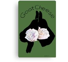 Goat Cheese (Green) Canvas Print